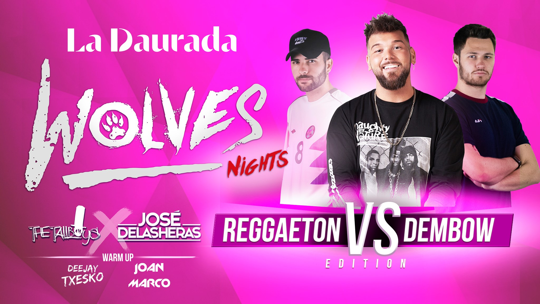 Wolves Nights Special Reggaeton vs Dembow